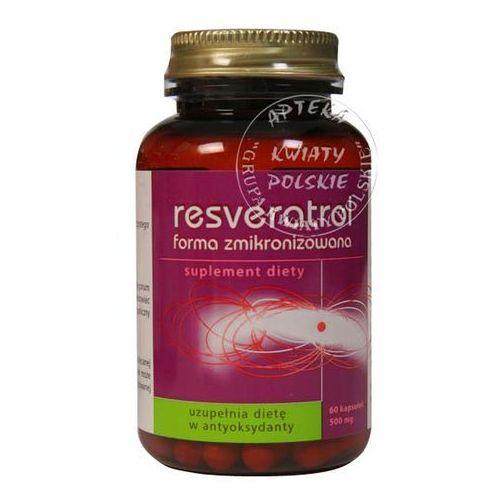 RESVERATROL TRANS 50 mg forma zmikronizowana 60 kapsułek