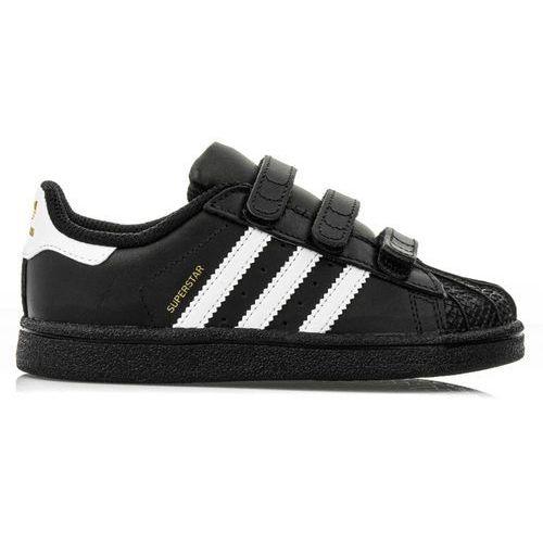adidas Originals SUPERSTAR CF Obuwie do nauki chodzenia core black/footwear white, kolor czarny
