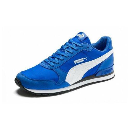 Puma Buty męskie st runner niebieskie