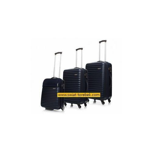 0d9636efba0c1 Komplet walizek MODO by Roncato zestaw duża + średnia + mała/ kabinowa  kolekcja SPACE materiał