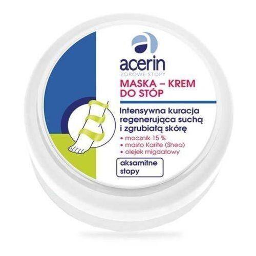 ACERIN Maska-krem do stóp intensywna regeneracja 100ml - Ekstra oferta