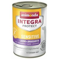 protect sensitive, puszki, 6 x 400 g - konina i amarantus marki Animonda integra