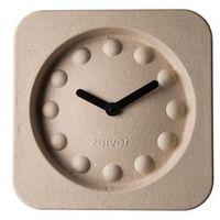 zegar pulp time kwadratowy beżowy 8500019 marki Zuiver