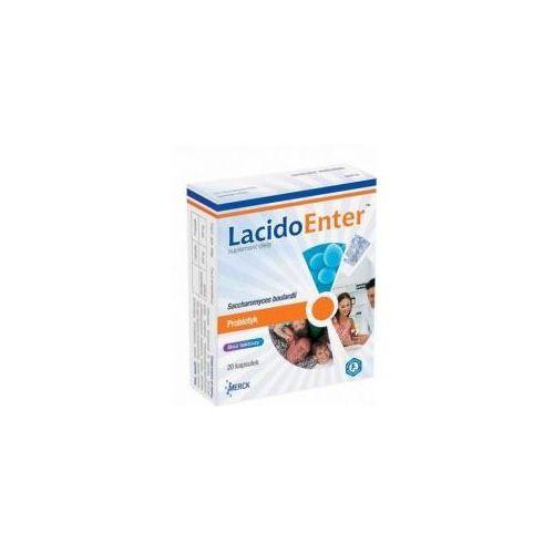 Kapsułki LacidoEnter, Probiotyk, 20 kapsułek