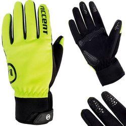 Rękawiczki długie ACCENT Igloo neonowy / Rozmiar: L