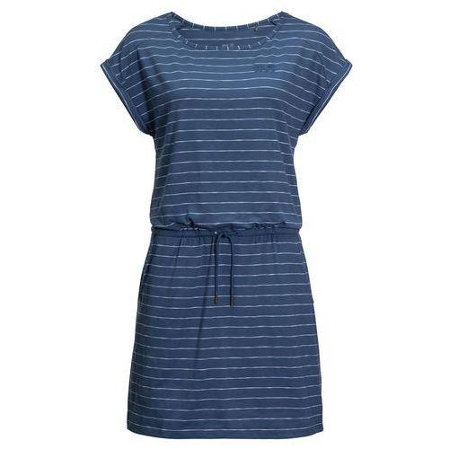 Sukienka TRAVEL STRIPED DRESS ocean wave stripes - XL, 1504063-9951005