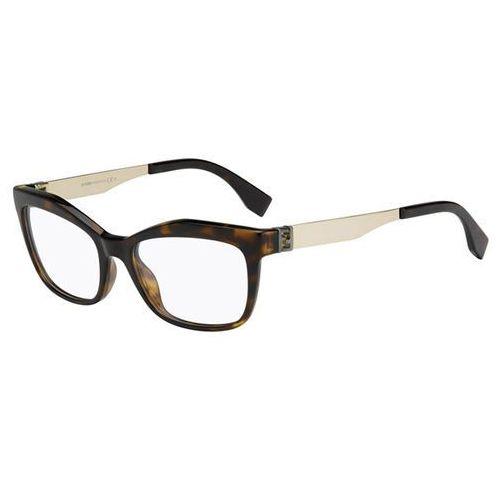 Fendi Okulary korekcyjne ff 0050 the fendista pgm