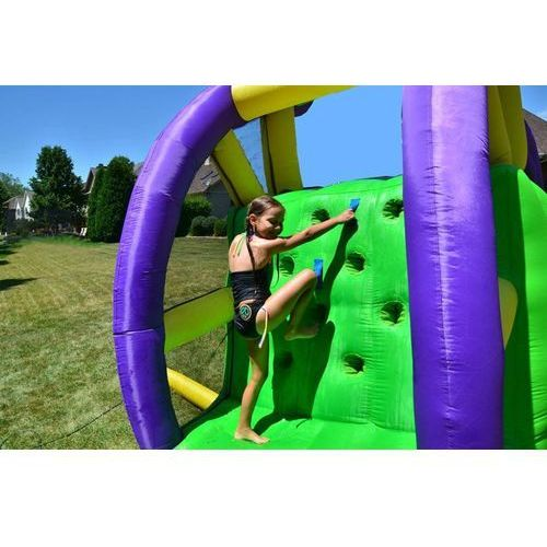 Happy hop Dmuchana podwójna zjeżdżalnia wodna - double the fun (6933491990298)