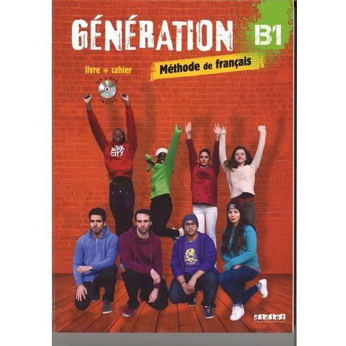 Generation B1 podręcznik + ćwiczenia + CD mp3 + DVD - Marie-Noelle Cocton, Didier