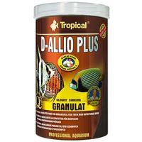 d-allio plus - granulowany pokarm uodparniający dla paletek 100ml/60g marki Tropical