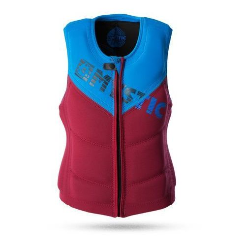 Mystic Kamizelka star 2017 wake vest zip bordeaux