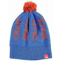 czapka zimowa SPACECRAFT - Typography Pom Med Blue (MB) rozmiar: OS