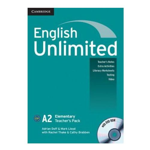 English Unlimited Elementary Teacher's Pack (Teacher's Book with DVD-ROM) (2010)