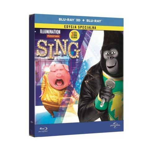 Filmostrada Sing (blu-ray 3d steelbook)