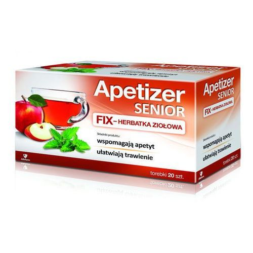 Aflofarm Apetizer senior herbatka fix x 20 saszetek