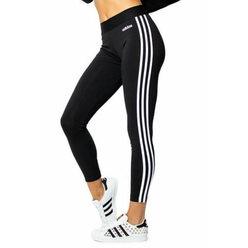 Adidas Legginsy damskie essentials 3 stripes tight czarne dp2389