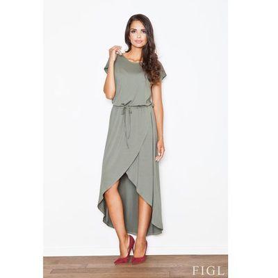 2a297902f0 suknie sukienki mietowa szyfonowa sukienka z krysztalkami w pasie ...