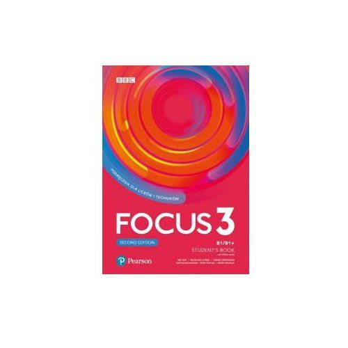 Focus Second Edition 3 Student's Book + Digital Resources, Pearson Longman