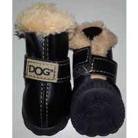 Zolux buty dla psa - czarne - nr 2 dla np. chihuahua, yorkshire
