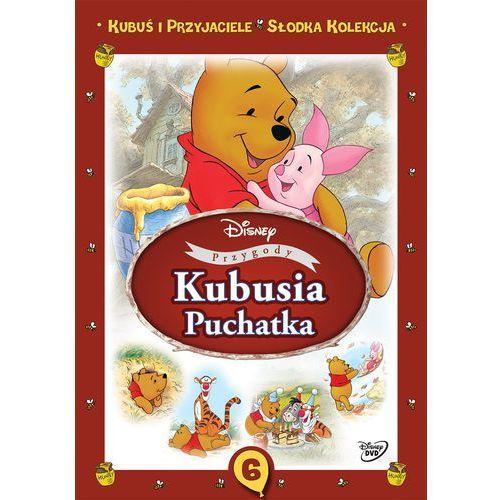 Kubuś i przyjaciele. Słodka kolekcja. Część 6. Przygody Kubusia Puchatka [DVD] (7321917502542)