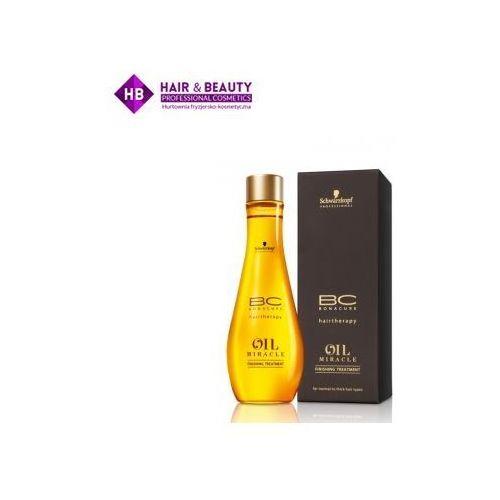 Bc oil miracle maseczka do pielęgnacji końcowej z olejkiem arganowym olejek czarny 100 ml Schwarzkopf - Genialna obniżka